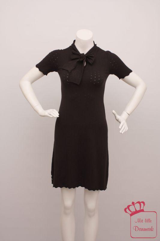 Erstes Bild der Rundumansicht für das Produkt Visc Knit Dress Collar 1310209 kurzarm knielang mi