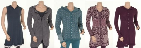 Kapuzenkleider und Jacken von Sorgenfri