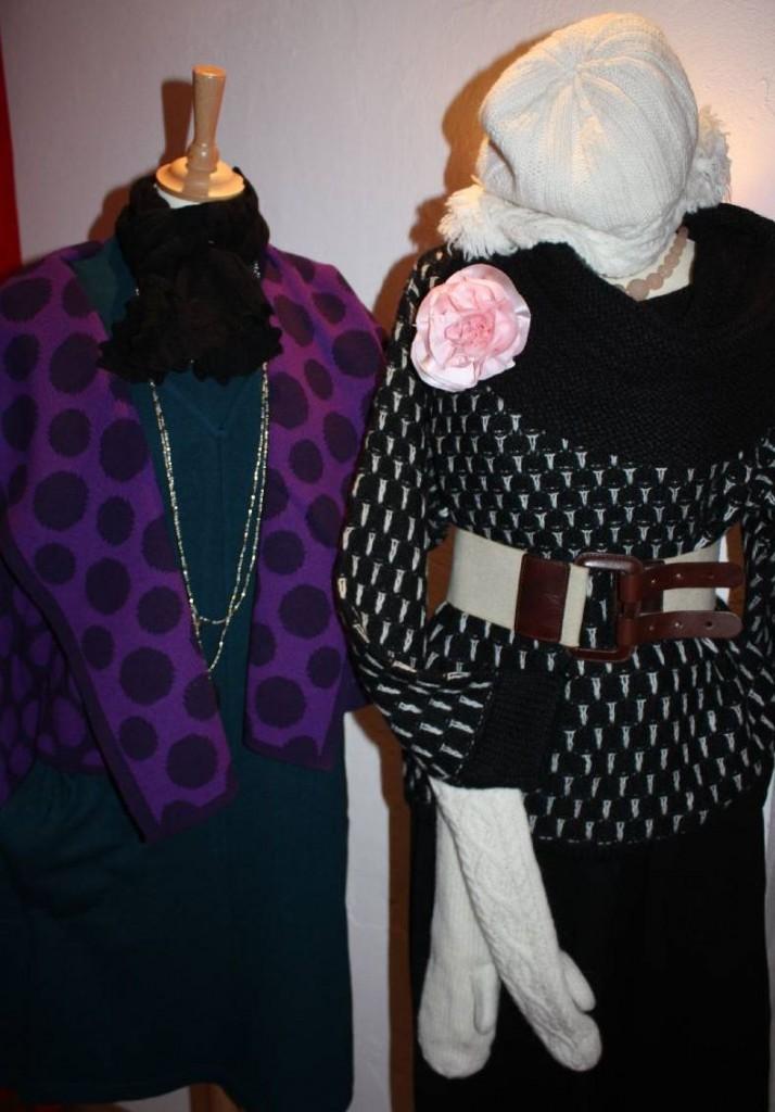 Zwei Beispiele der Herbst Kollektion 2010 von Two Danes.