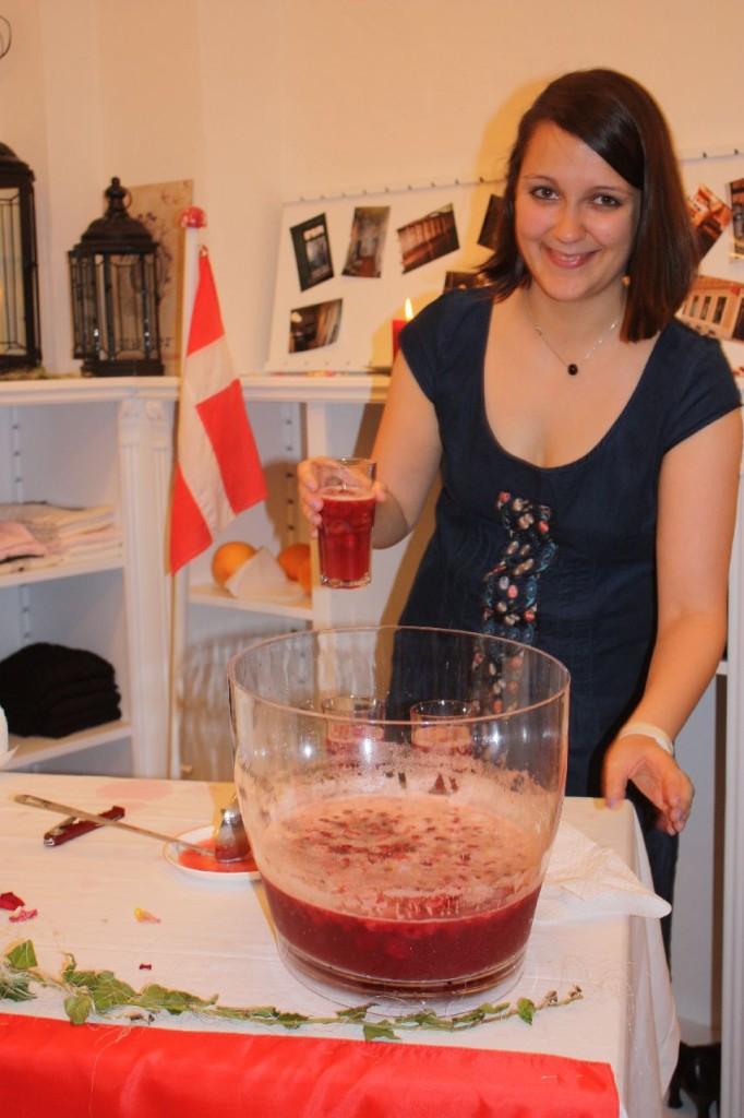 Im Mit lille Danmark gab es den Dansk Drom - den dänischen Traum. Ein verflixt erfrischender Cocktail.