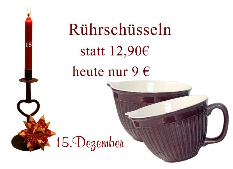 Schüssel zum Backen von Ib-Laursen gibt es am 15.12.2010 im Julekalender.
