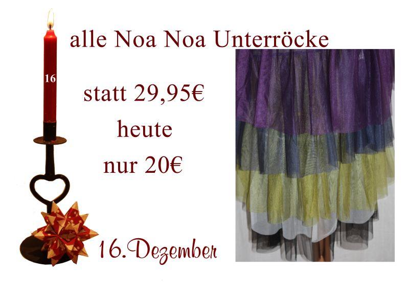 Am Donnerstag den 16.12.2010 kosten alle Unterröcke nur 20 Euro statt 29,95 Euro.