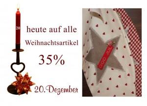 Die dänischen Weihnachtsartikel gibt es im Mit lille Danmark am 20.12. zu sagenhaft reduzierten Preisen.