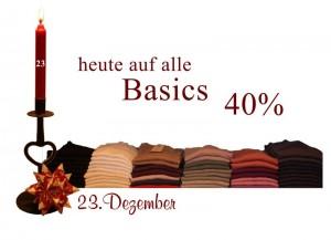 Basics gibt es im Mit lille Danmark in allen Farben und Größen. Zu finden im Basic-Paradies im neu eröffneten Ladenbereich.