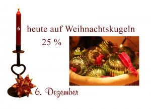Die Weihnachtskugeln von Greengate sind zum Nikolaustag 25% reduziert.