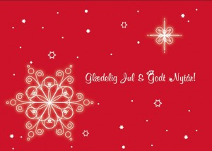 Schöne Weihnachten und ein gesundes neues Jahr!