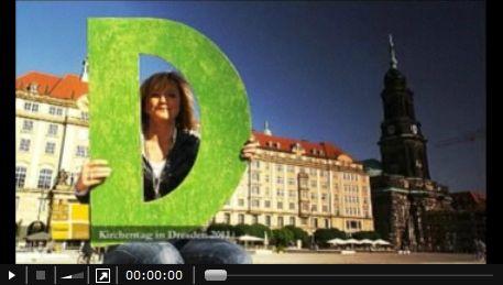 Im Video stellen sieben Dresdner ihre Gründe vor, warum jemand den Kirchentag in Dresden besuchen sollte.