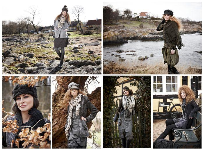 Die dänische Wohlfühlinsel Bornholm bietet den natürlichen Hintergrund für die Herbst- und Winter-Kollektion von Nü by Staff-Woman.