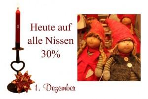 Die dänischen Weihnachtswichtel helfen im Haushalt (sagt man). Davon kann man eigentlich nicht genug bekommen.
