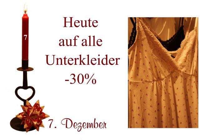 Den passenden Unterrock von Noa-Noa, Container oder Ti-Mo gibt es am Mittwoch den 7. Dezember 2011 um 30% reduziert.