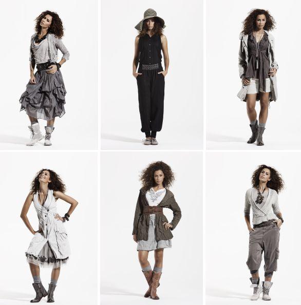 Impressionen für die Vielzahl der verwendeten Rüschen in der Spring- Summer-Kollektion 2012 findet man im Lookbook.