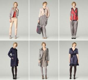 """Das Januar-Thema von der Frühlingskollektion 2012 von Noa-Noa heißt """"Japanese Garden""""."""