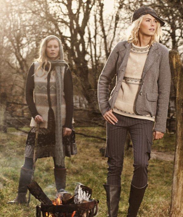 Das dänische Mode-Label Container präsentiert seine Herbst-Kollektion 2012 im Landstreicher-Stil.
