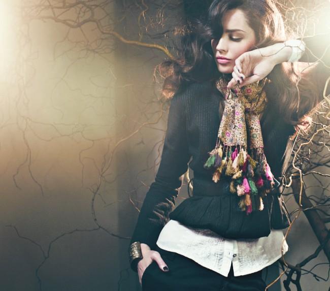 Noa-Noa´s Herbstkollektion 2012 ist romantisch und feminin.
