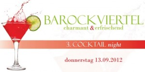Der Flyer zur 3. CocktailNight im Barockviertel Dresden zeigt es schon: Es geht um gemütliches Schlendern und Genießen. Die zahlreichen individuellen Geschäfte des Barockviertels präsentieren dabei ihre eigenen Cocktails.