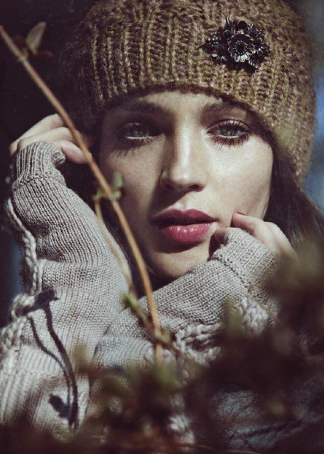 Noa-Noa zeigt seine Wintermode 2012 - Schön, nostalgisch und romantisch.
