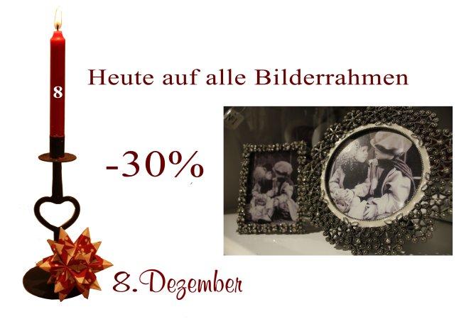 Samstag den den 8.12.2012 sind alle Bilderrahmen von Lisbeth-Dahl und Ib-Laursen um 30% reduziert.