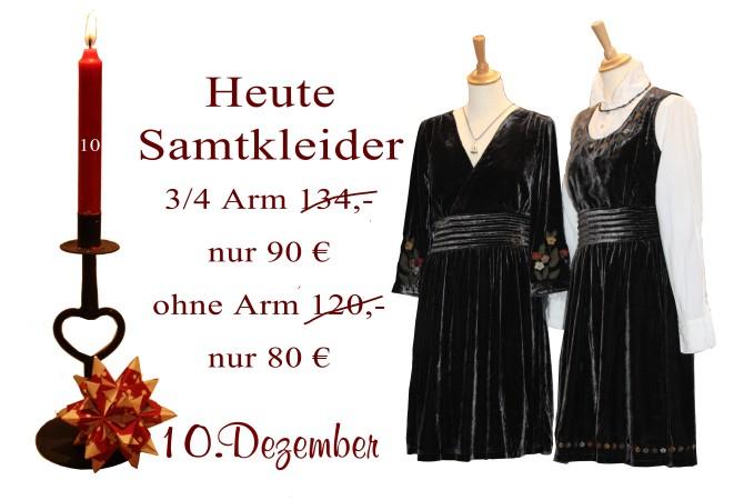 Am 10.12.2012 gibt es das 3/4-Arm Kleid Naranja (3-2211) für nur 90€ statt 134€ und das ärmellose Kleid  Natalie (3-2212) für nur 80€ statt 120€.