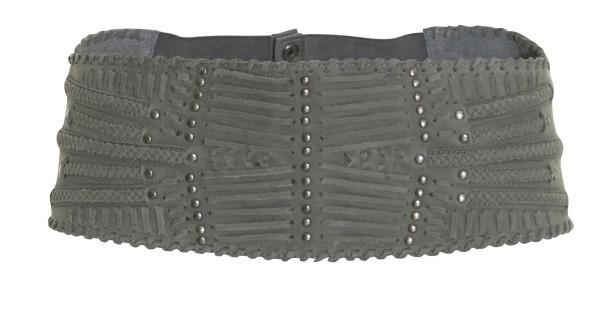 Nü by Staff-Woman: Diesen grauen überbreiten Gürtel (2782-95) gibt es am Samstag den 15.12.2012 um 40% reduziert.