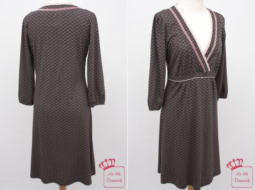 Aus der Winterkollektion 2012 von Container: Netta Dress 3-2203 in der Farbe Noire