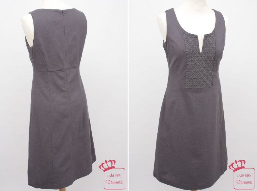 """Aus der Herbst-Kollektion 2011 stammt das Noa-Noa Kleid """"Magpie Wool"""" (DM-2215) in der Farbe Shark (Grau)."""