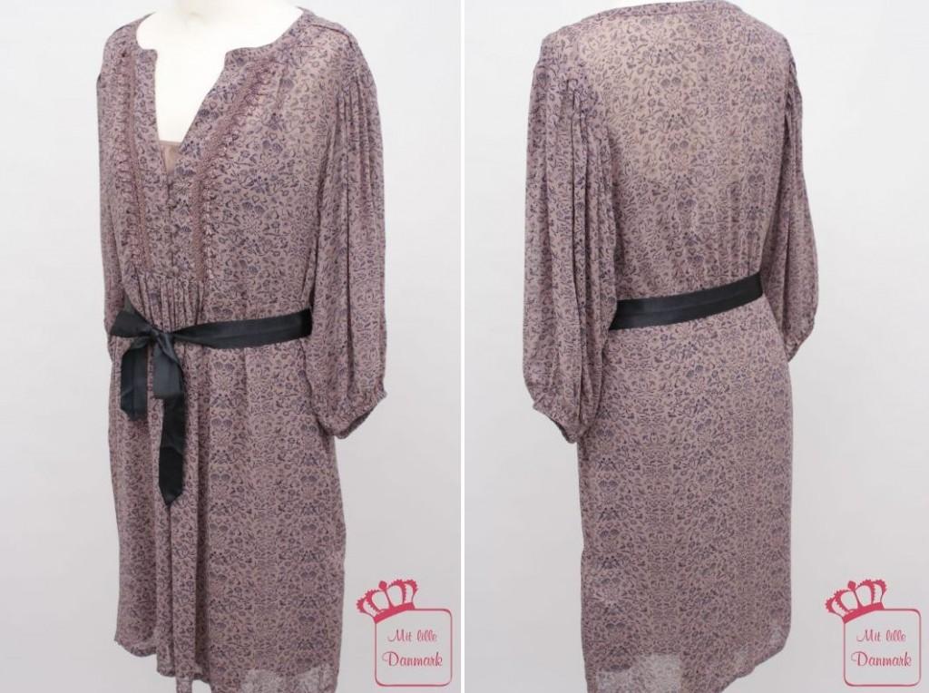 """Das Kleid """"Refined Chiffon"""" (1-1259-1) aus der Noa-Noa Herbst-Kollektion 2012 gibt es in der Farbe """"light peppercorn""""."""