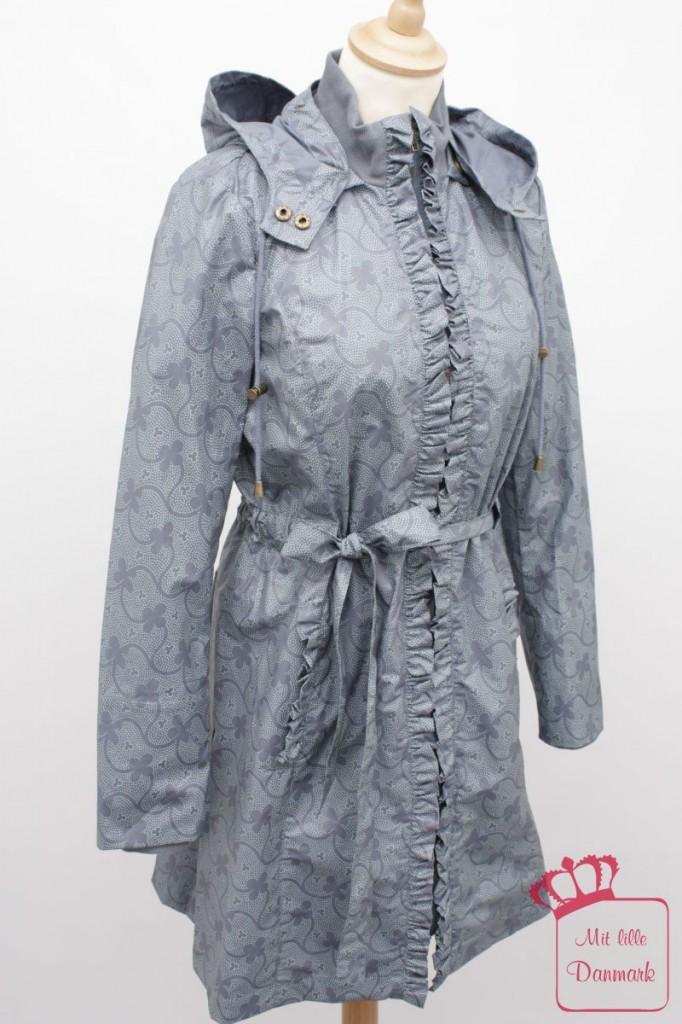 """Die Regenjacke """"Wanda Windy"""" (1-1191-1) von Noa-Noa aus der Herbstkollektion 2012 gibt es in der Farbe dark-arona. Der Originalpreis: 129,95€."""