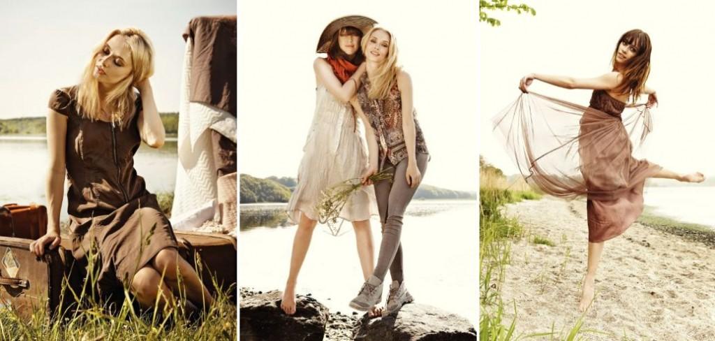 Der zweite Blick in das Lookbook für die Spring-Collection von Nü by Staff-Woman 2013.