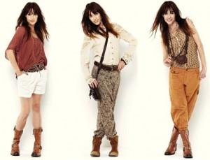 Nü by Staff-Woman - Spring 2013 - Hier zu sehen sind Outfits mit kurzen und langen Hosen.