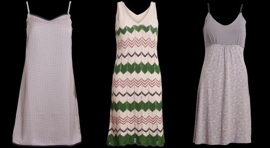 Aus der Container Frühlingskollektion 2013 einige ärmellose Kleider.