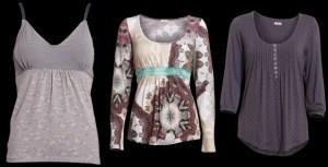 Aus der Container Frühlingskollektion 2013 einige Oberteile, Tops und Blusen