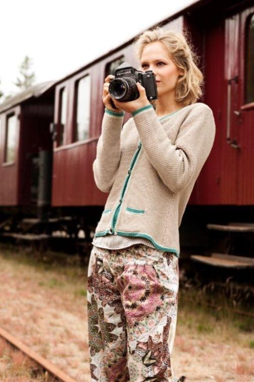 Hose und Strickjacke aus Spring 2013 von Container
