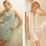 Links: Dress 1-2269-1; Rechts: Dress 1-2267-1, Necklace 1-2104-1