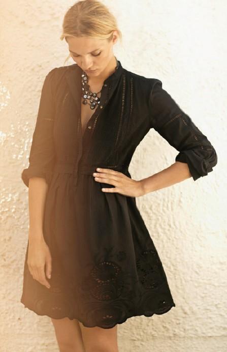 Aus dem Lookbock der Noa-Noa Frühlingskollektion: Dress 1-2266-1, Necklace 1-2107-1