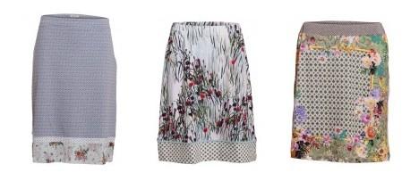 Röcke aus der Sommerkollektion 2013 von Container - Roxanne, Randi und Runa