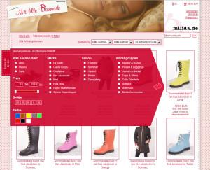 Der Einkaufsberater im Online-Shop