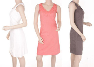 "Noa-Noa: Kleid ""Pure Cotton"" 1-2441-1"