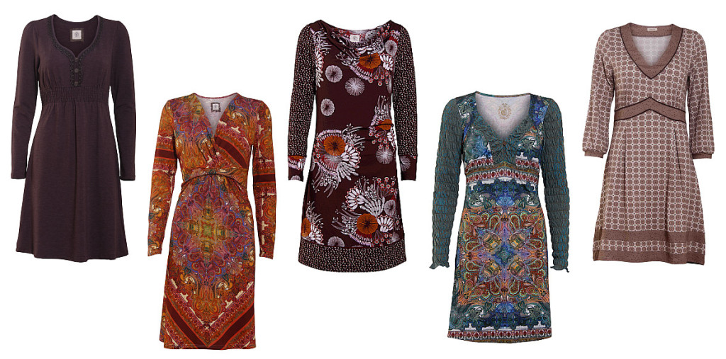 Eine Auswahl an tollen Kleider der Herbst-Kollektion von Container.