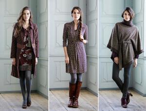 Drei Herbst-Outfits von Container