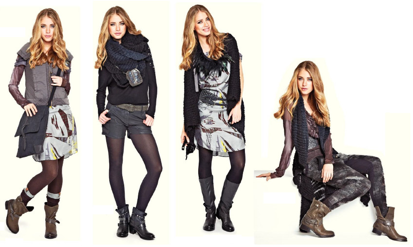 7 Outfits - Part 1 (Montag bis Donnerstag)