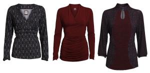 Tops und Kleider von Container im Winter 2013