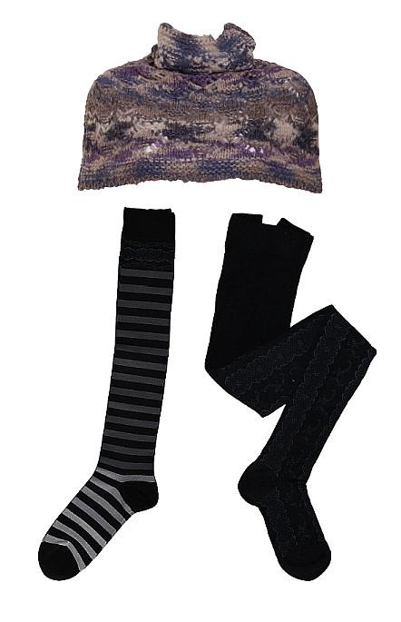 Scarf und Socken von Container im Winter 2013