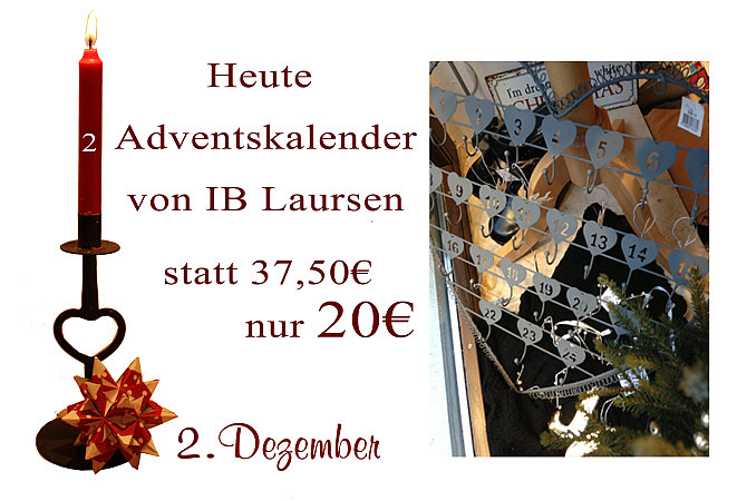 Julekalender 2013: 2. Dezember - Adventskalender 5986-18 von Ib-Laursen
