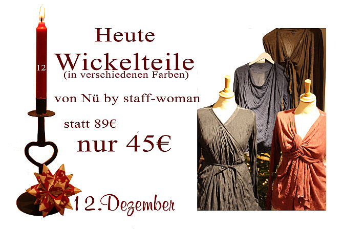 Wickel-Oberteile von Nü by Staff-Woman