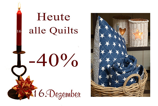 Quilts mit dänischen Mustern