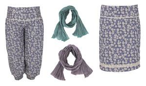 Hosen, Tücher und Röcke