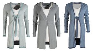 Knitwear - Strickjacken mit Kapuze