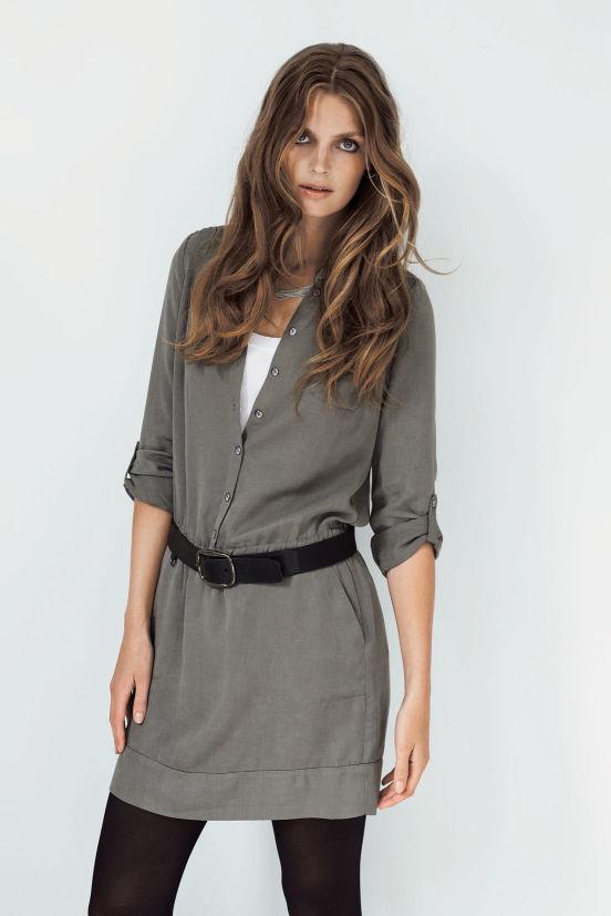Januar - Outfit 2 - Kleid, Top, Gürtel und Kette (Quelle: noanoa.com)
