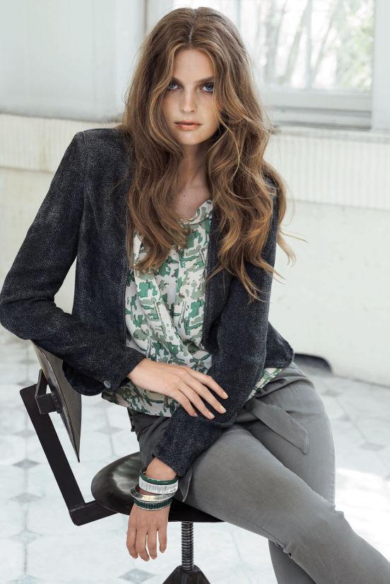 Januar - Outfit 3 - Jacket, Top, Hose und Armband (Quelle: noanoa.com)