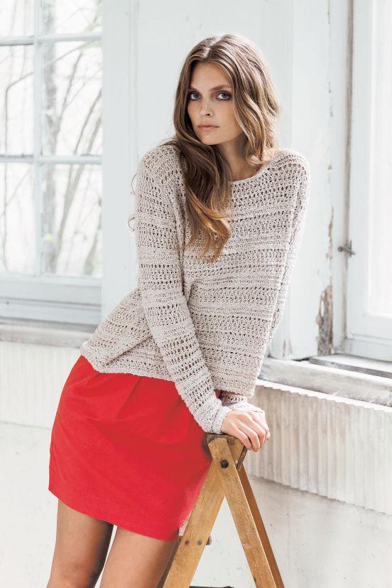 März - Outfit 1 - Bluse, Rock (Quelle: noanoa.com)